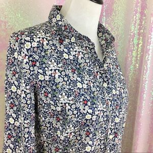J crew Sz 8 liberty shirt: Ltd edition! Like new!